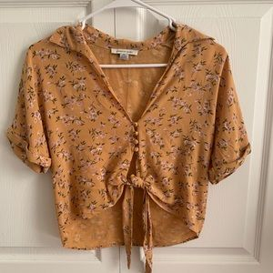 NWOT Cropped American Eagle Top